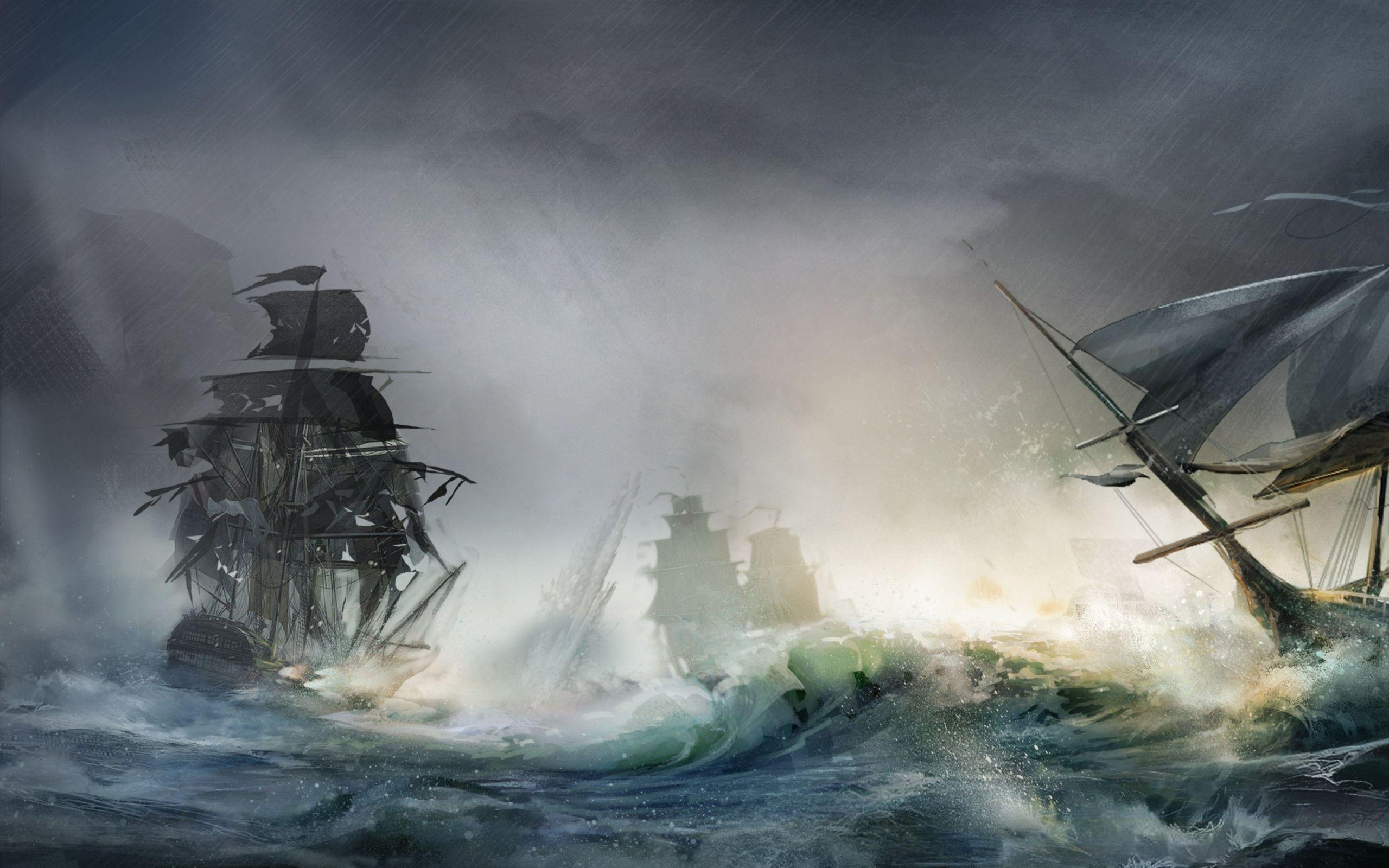 ocean storms ocean sea storm ships artwork civil war
