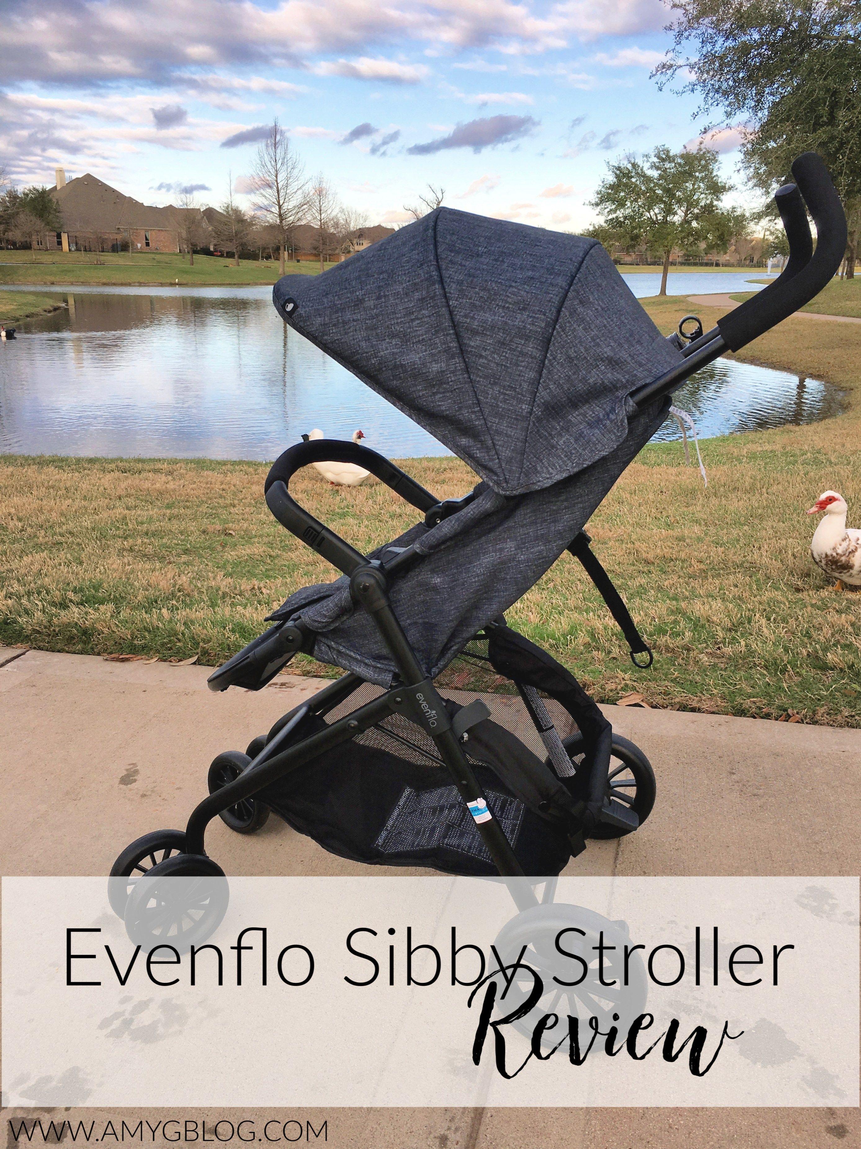 Evenflo Sibby Stroller Review Stroller, Stroller reviews