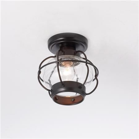 Nautical Onion Outdoor Ceiling Light 109 8 W X H Orb With Seeded Gl