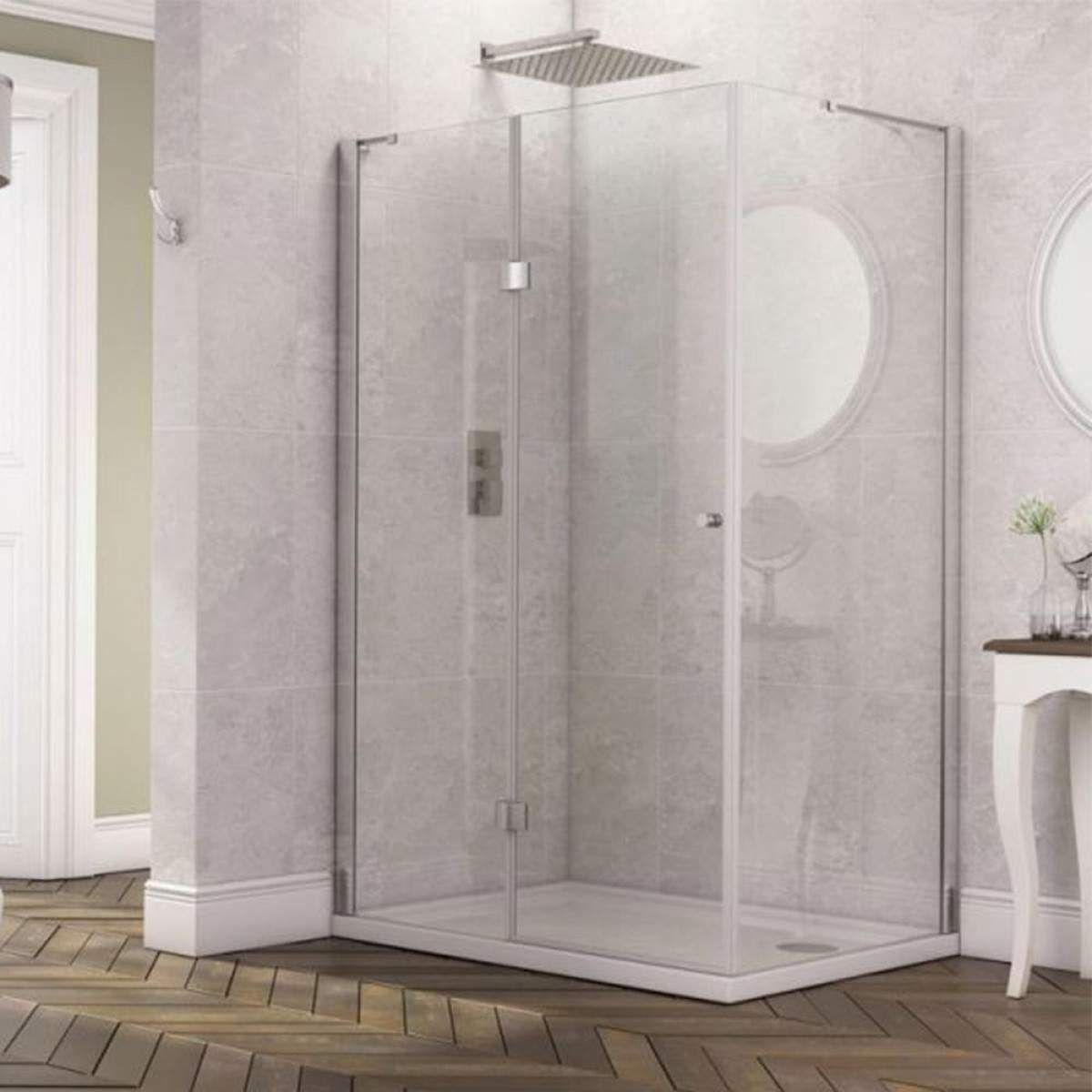 Imaginative Frameless Hinged Shower Enclosure Design Ideas