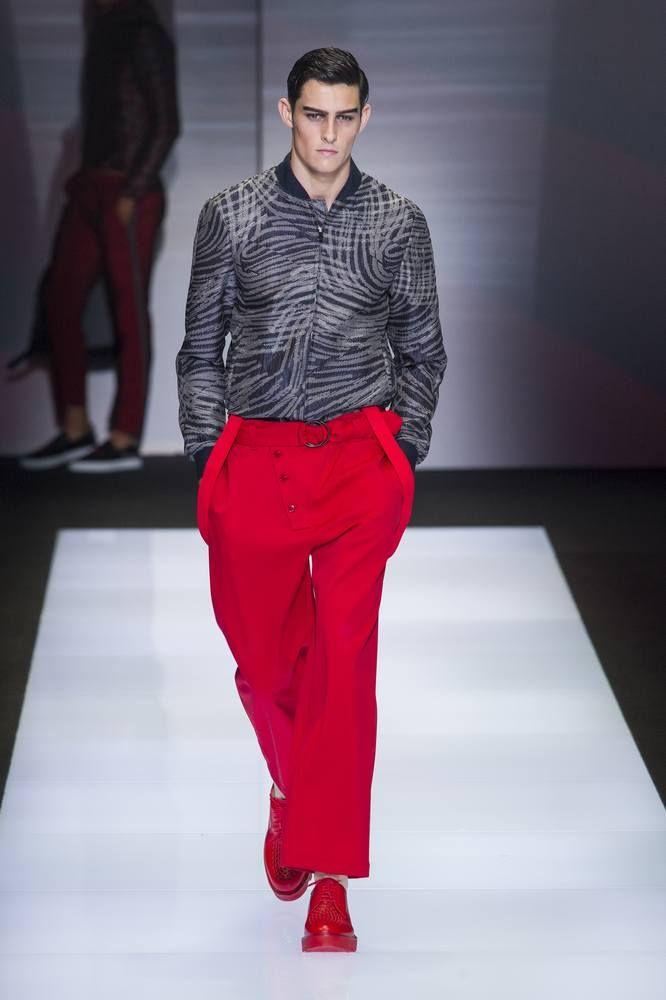 Emporio Armani Spring-Summer 2017 - Milan Fashion Week #MFW