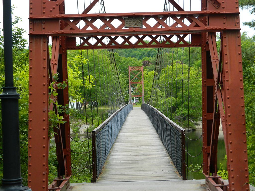 The Remarkable Bridge In Maine That Everyone Should Visit