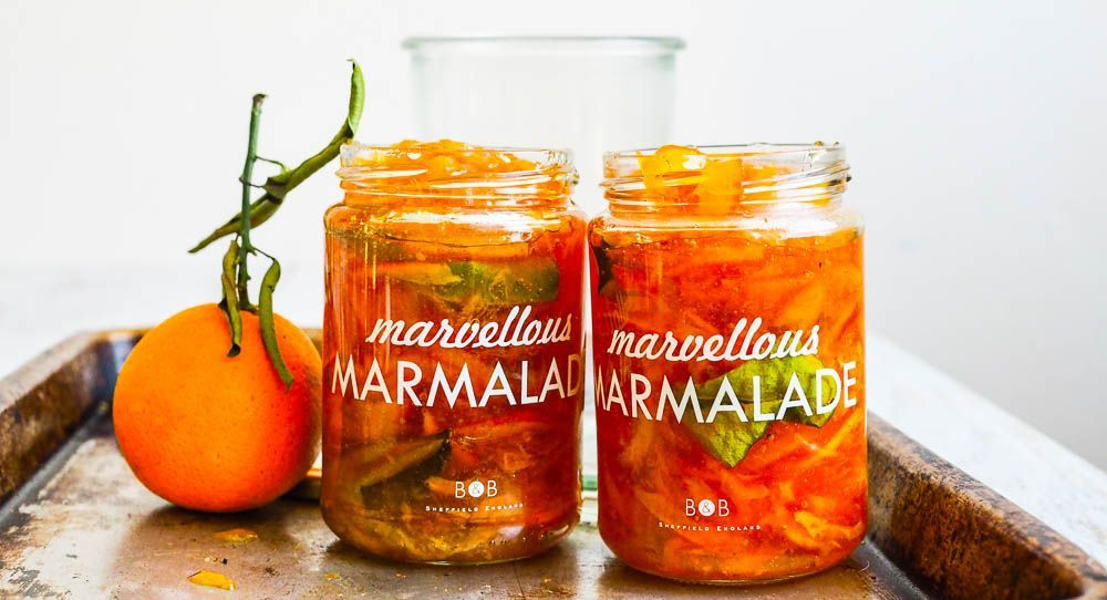 Pucker Up For Seville Orange & Kaffir Lime Marmalade