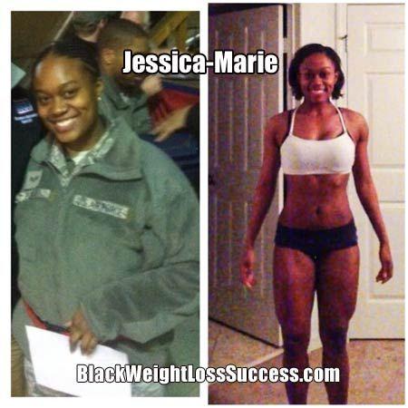 black women weight loss success story
