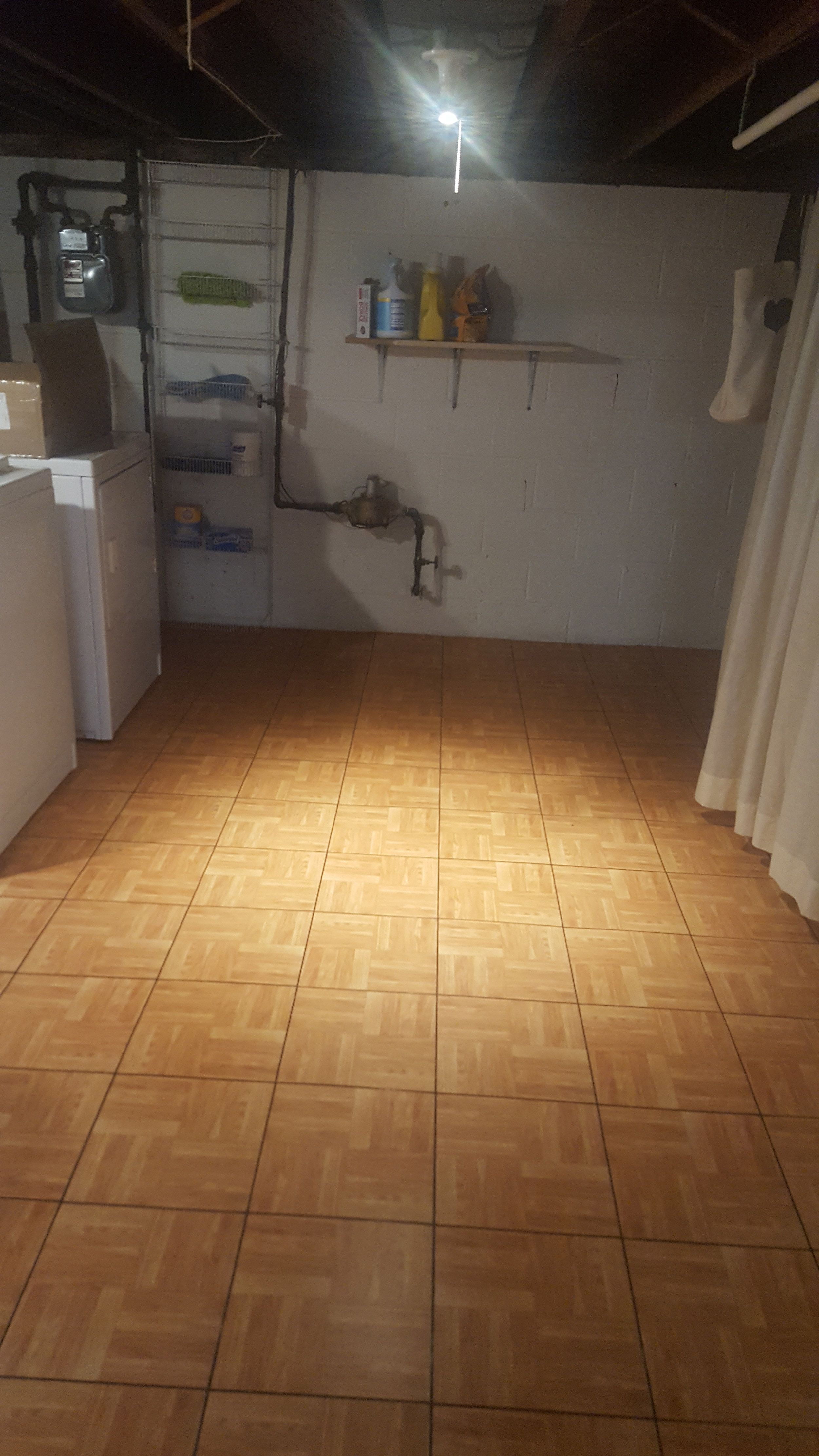 Basement And Portable Event Floor Tile Tile Floor Basement