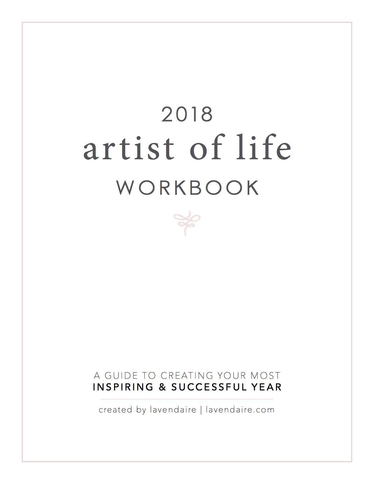 2018 Artist of Life Workbook (Digital | Adult coloring | Bullet