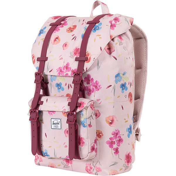 Herschel Supply Co. Little America Mid-Volume Laptop Backpack ( 80) ❤ liked  on Polyvore featuring bags fec53abf20243