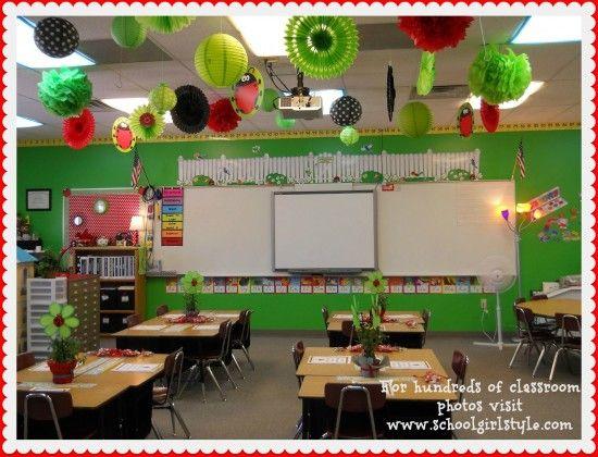 Ladybug Classroom Decoration Ideas : Ladybug classroom decor and decorations ladybug classroom themes