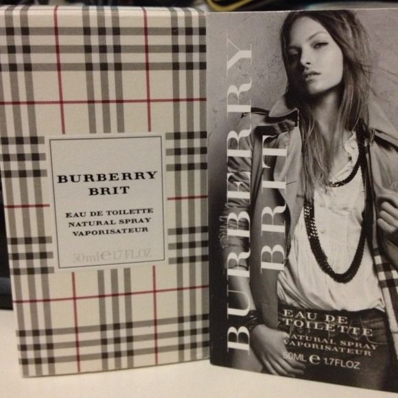 Burberry Brit Eau De Toilette Perfume for Women Burberry Brit for women 1.7 fl oz perfume. I have used it very few times and I don't like it. (bought it without trying it on). **want to sell, not trade** Burberry Accessories
