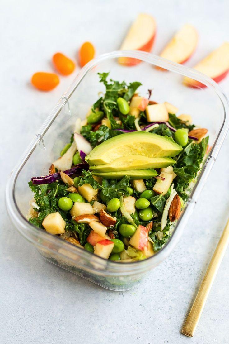 Packable Crunchy Detox Salad With Sesame Ginger Dressing Recipe