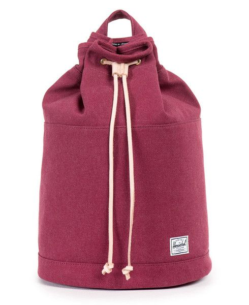 HERSCHEL SUPPLY CO. - HANSON BACKPACK (WINDSOR WINE 12 OZ. COTTON CANVAS) 14d99f7ab7cc3