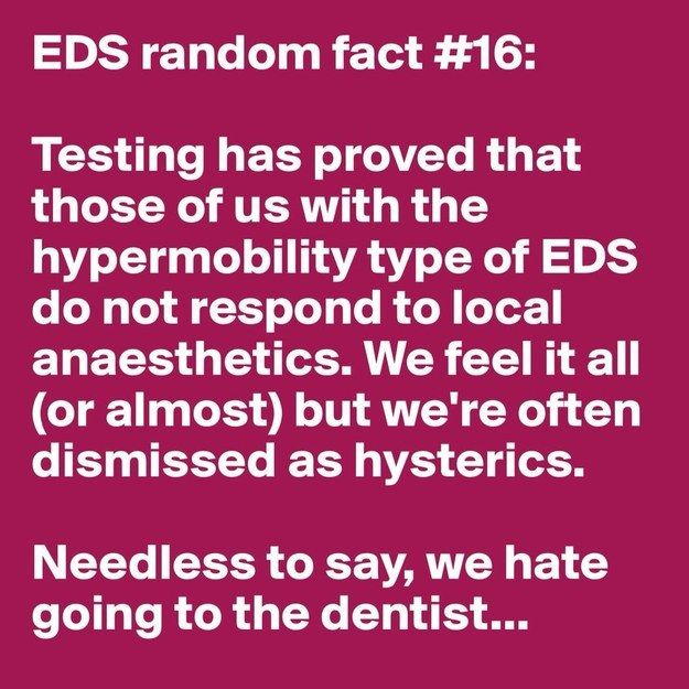 31 Random Facts About Ehlers-Danlos Syndrome | EDS Stuff ...