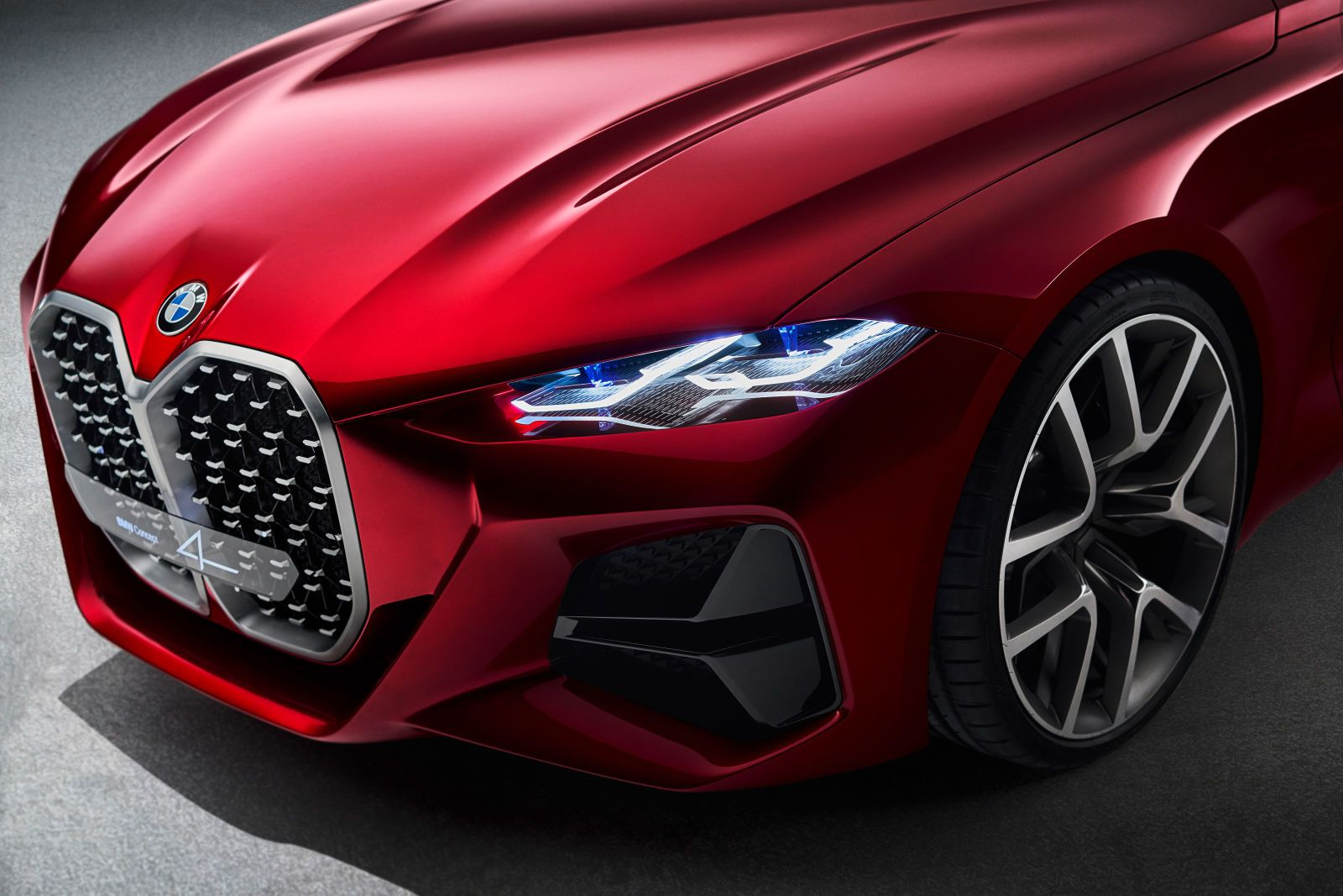 The Bmw Concept 4 Is All Grille All The Time Bmw Concept Bmw 4 Series Bmw 4