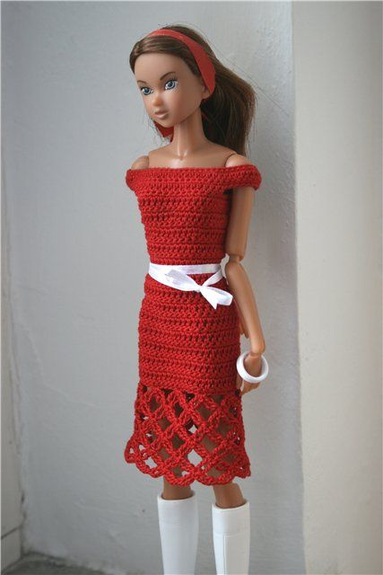 Pin Von Jan Schnur Auf Barbie Clothes Crochet Pinterest Barbie