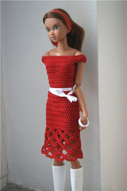 Pin Von Jan Schnur Auf Barbie Clothes Crochet Pinterest Barbie