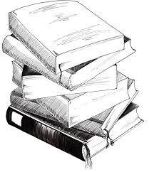 Bücherstapel Gezeichnet