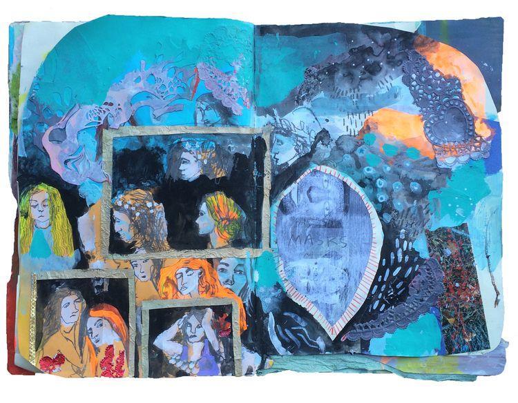 art journals — Cait Sherwood