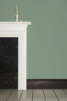 Chell Green Paint Colours Farrow Ball With Pavilion Blue And Tanner S Brown