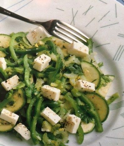 German pepper feta salad health pinterest feta salad and today we feature a salad the german pepper feta salad we recommend to use organic vegetables to make it a healthy choice its easy to make and wholesome forumfinder Image collections