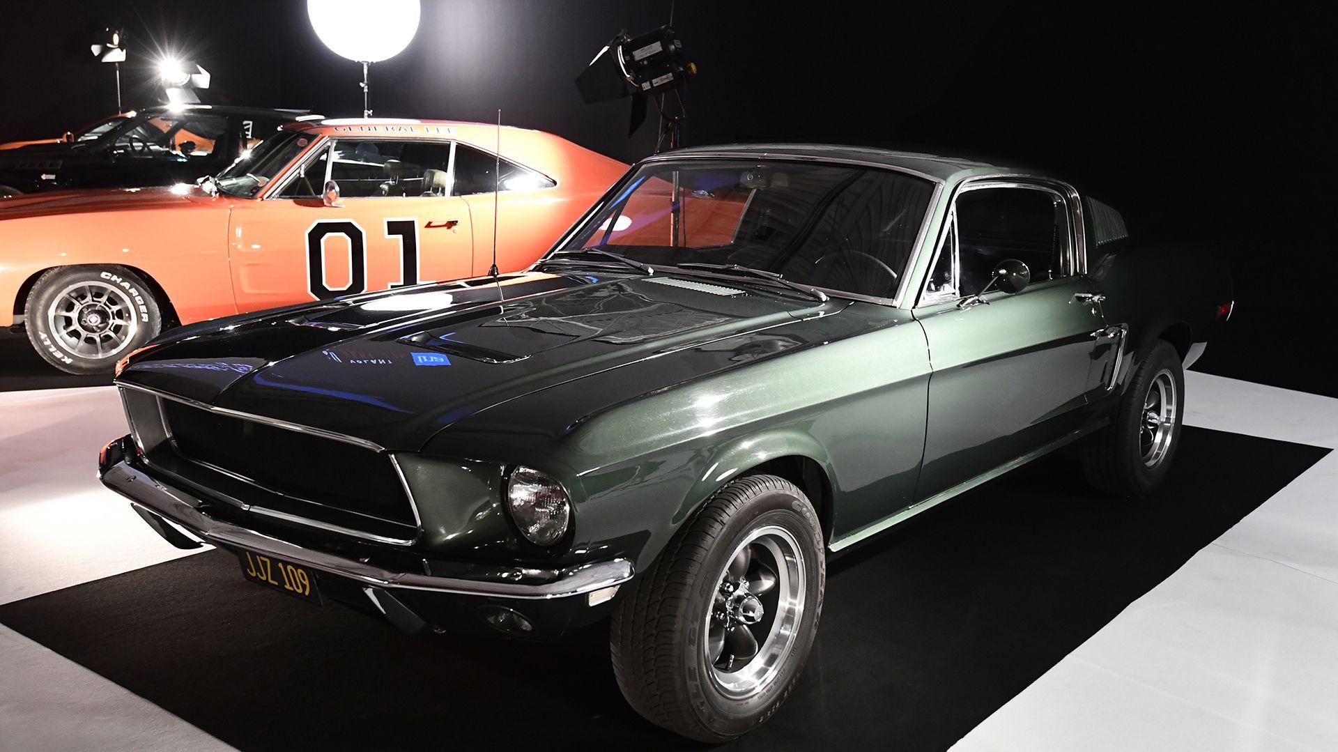 """El Ford Mustang GT 390 usado por Steve McQueen en la película """"Bullitt"""""""