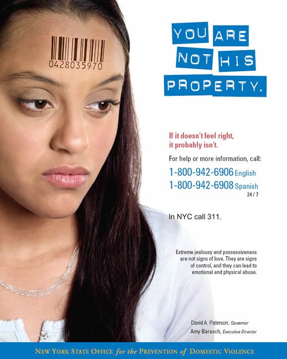 Teen dating violence campaign