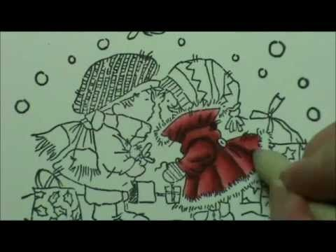 Video tut: Quick Flicks Colouring Reds with Copics Bev Rochester
