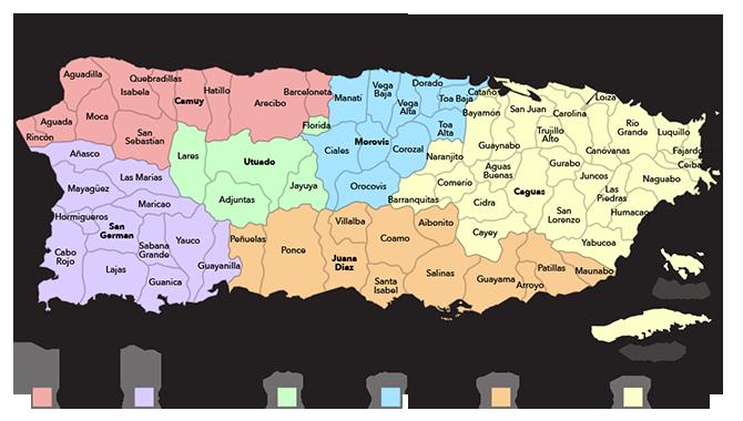 Puerto Rico Contacts Puerto Rico Map Puerto Rico History Puerto Rico
