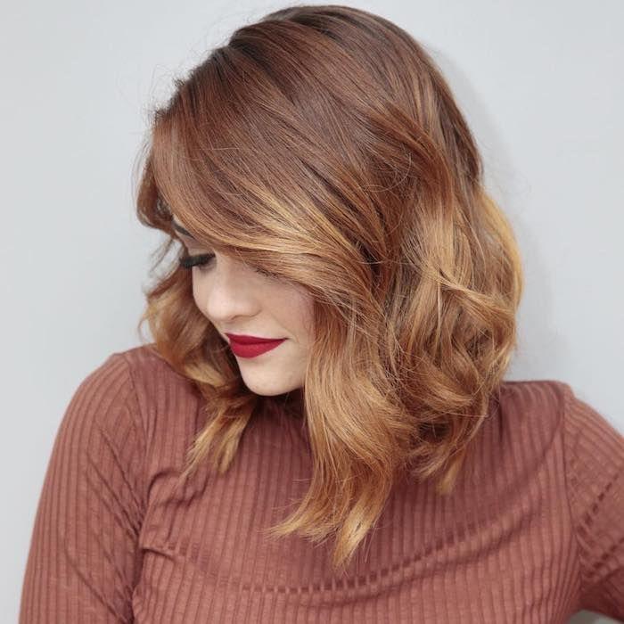 1001 + idées comment adopter le carré plongeant long | Couleur cheveux tendance, Belles couleurs ...