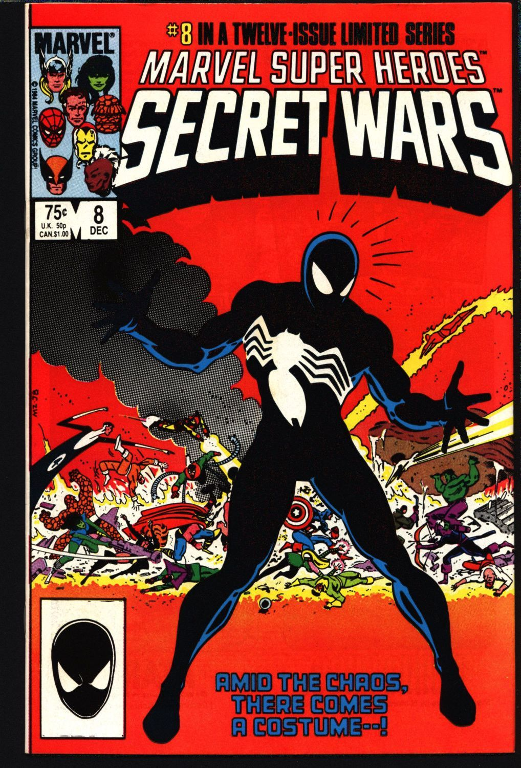 Venom Marvel Super Heroes: Secret Wars #8