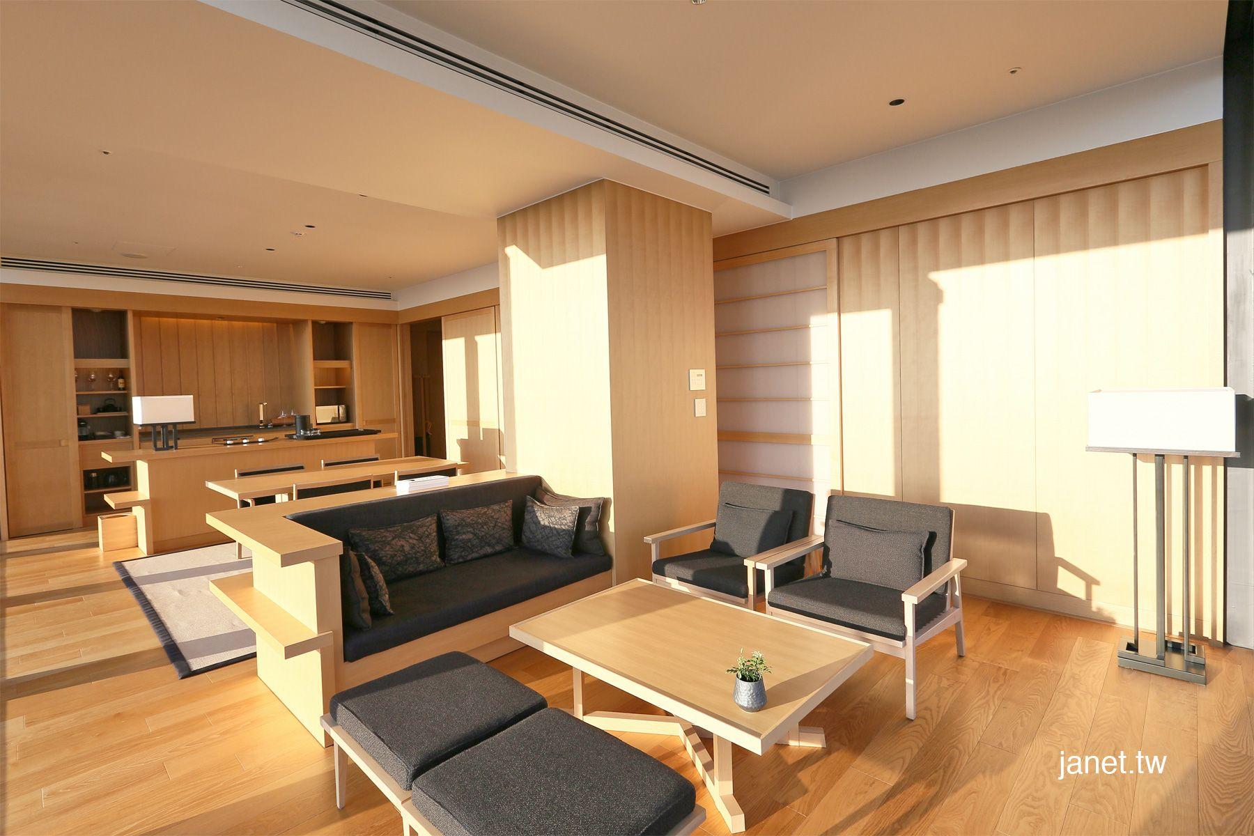 Aman Tokyo  Corner Suite