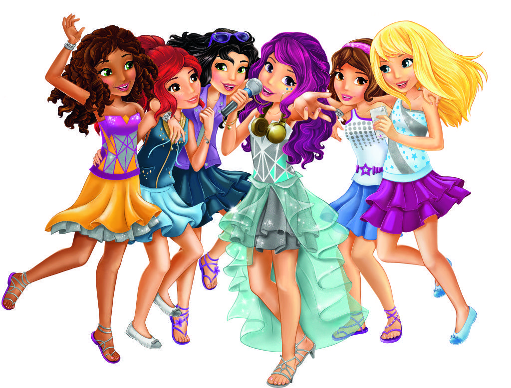 Check Out The New Lego Friends Pop Stars Range Lego Friends Lego Girls Lego Poster