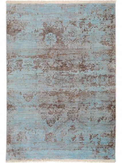 Teppich Vintage Safira Blau 133x185 Cm Teppich Benuta Teppich