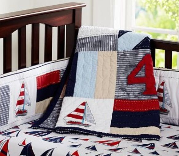 Nautical Crib Bedding From Pottery Barn Nautical Bedding Kids