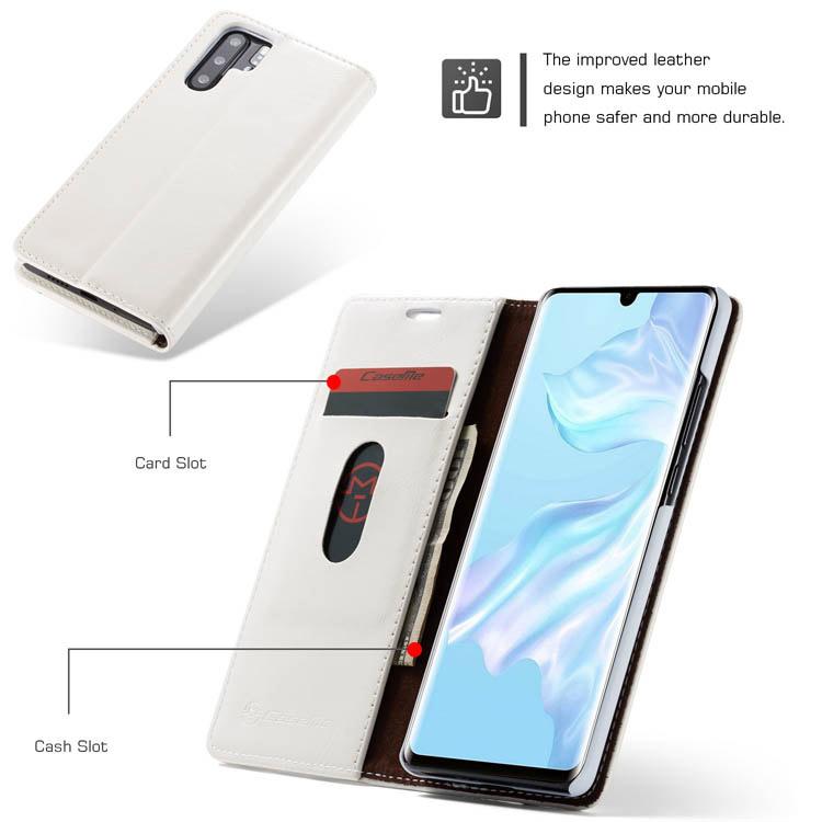CaseMe Huawei P30 Pro Flip Wallet Stand Case