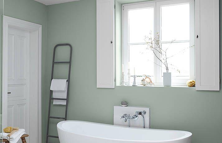 PremiumWandfarbe. Grün, graugrün Alpina Feine Farben