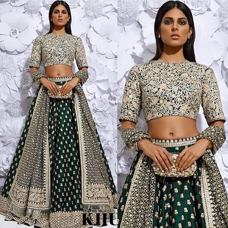 @sabyasachiofficial's bridal lenghas always take our breath away  #Sabyasachi #BridalFashion #IndianBride #WeddingIdeas #WeddingInspiration by weddingsinhouston