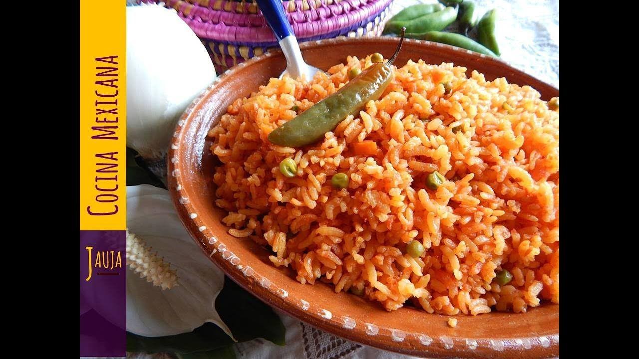 Los Mejores Tips Para El Arroz Rojo Perfecto Arroz Rojo De Jauja Cocina Mexicana Arroz Rojo Con Verduras Esponjado Coc Cocina Mexicana Preparar Arroz Comida