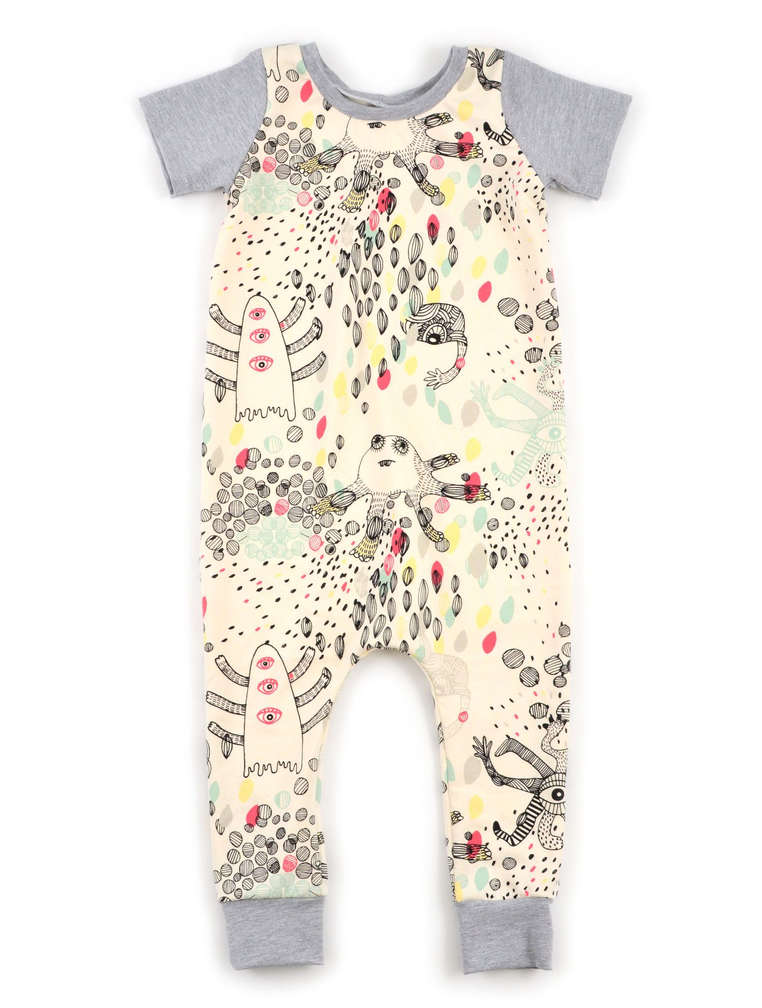 harem coverall pattern $7.50 | Sewing for the little people | Pinterest