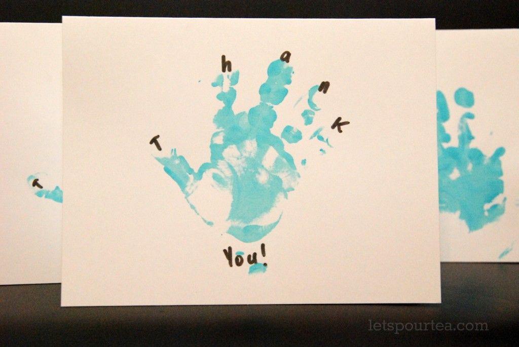 Diy Thank You Cards Great Idea Thursdays Pinterest Thank You