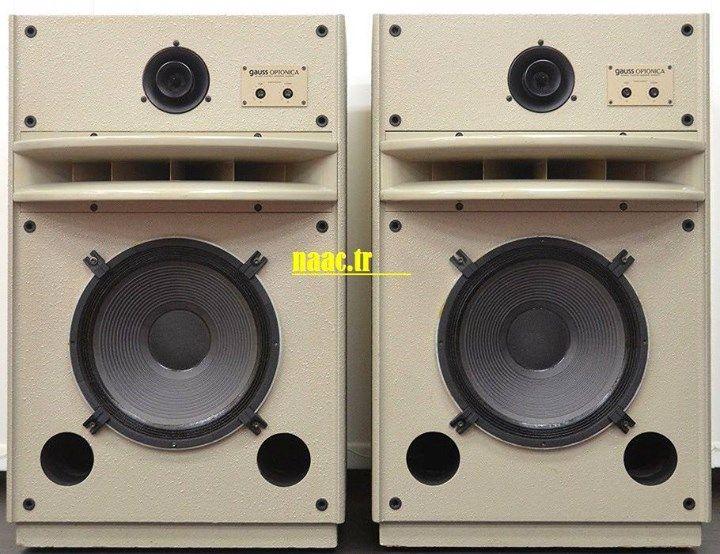 GAUSS OPTONICA CP3830 HORN SPEAKERs | speakers | Audiophile speakers