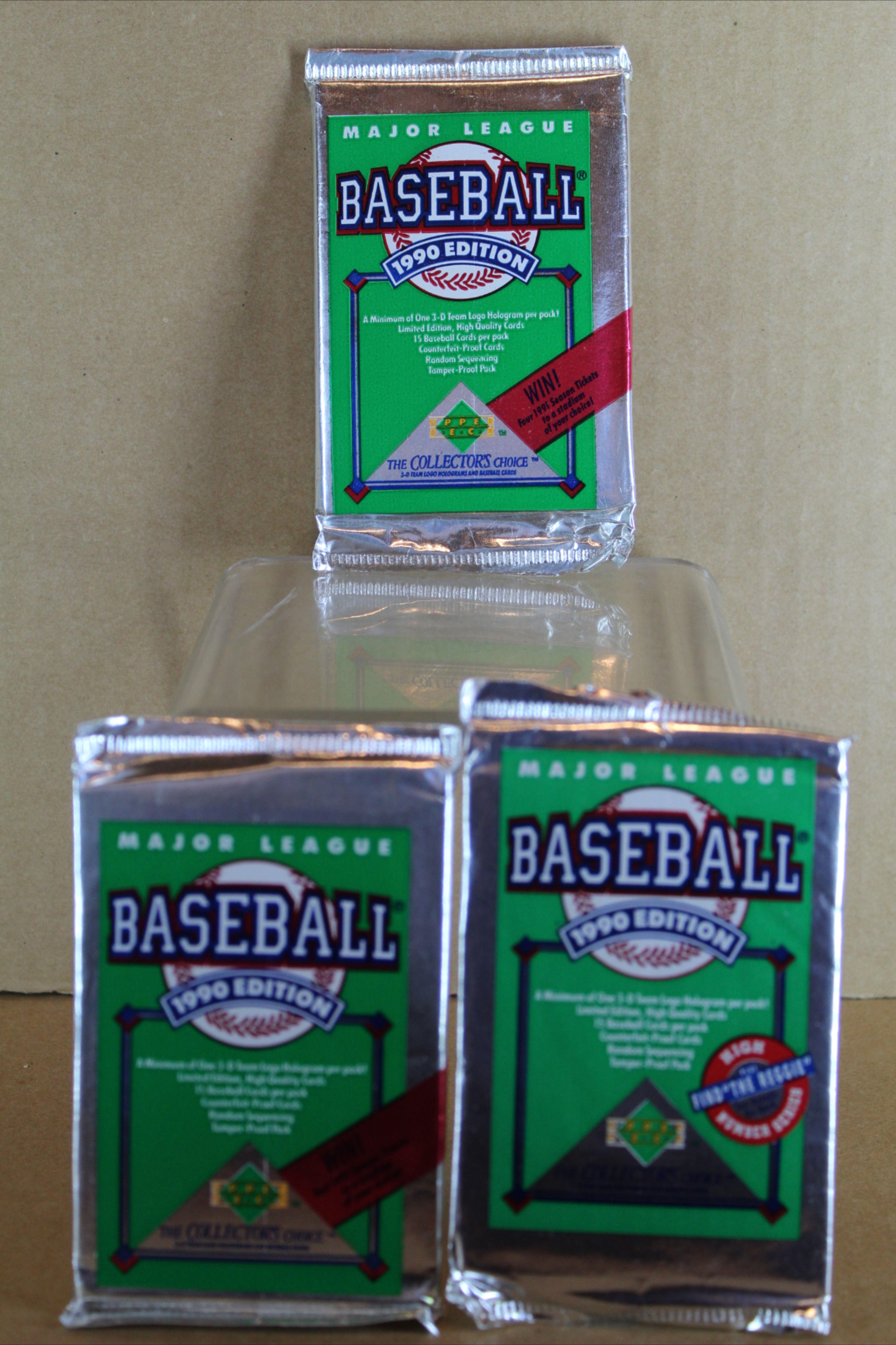 1990 upper deck baseball card high series set factory