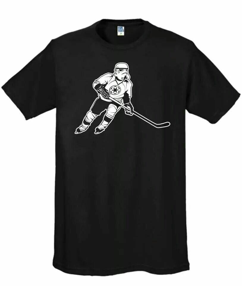 Hockey Playing Stormtrooper Shirts Mens Tops Mens Tshirts