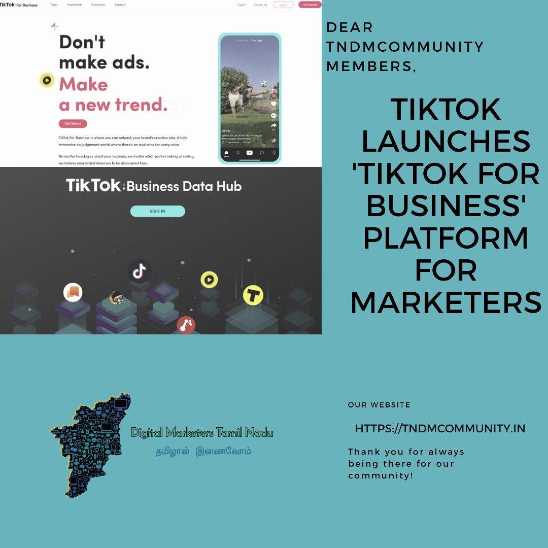 Tik Tok Blog Marketing Marketing Digital Marketing