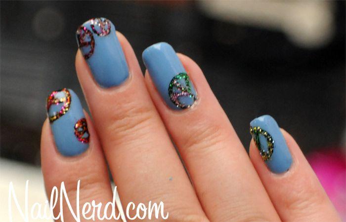 Loving the peace sign nail art | Nail Art | Pinterest | Peace sign ...