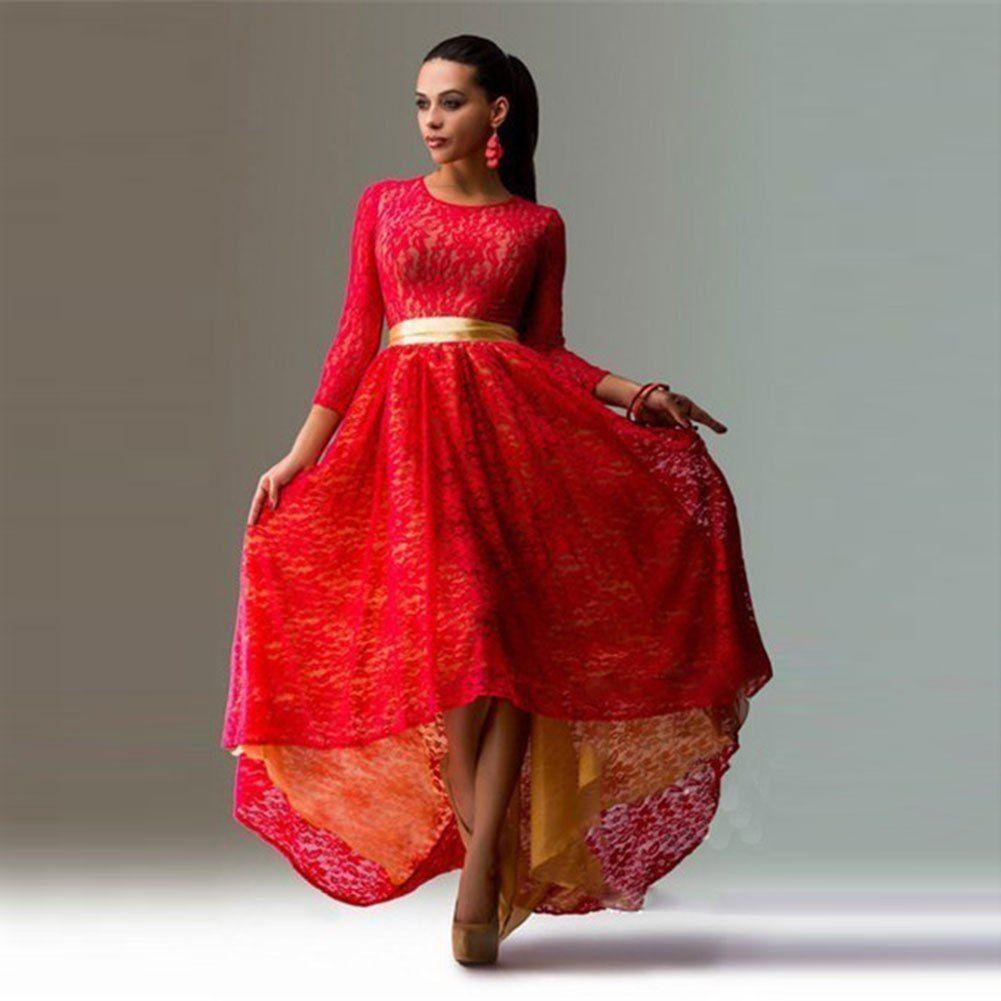 Baju european womenus fashion classic lace design longsleeved