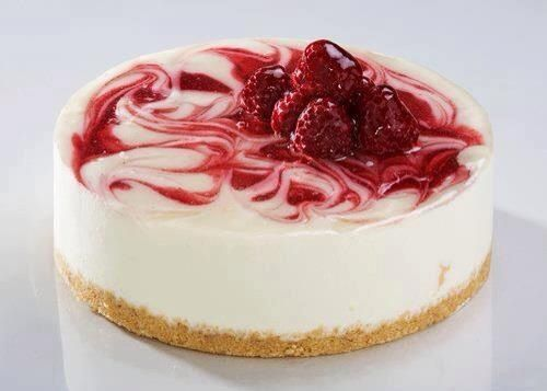 raspberries cheese cake  delicious desserts favorite