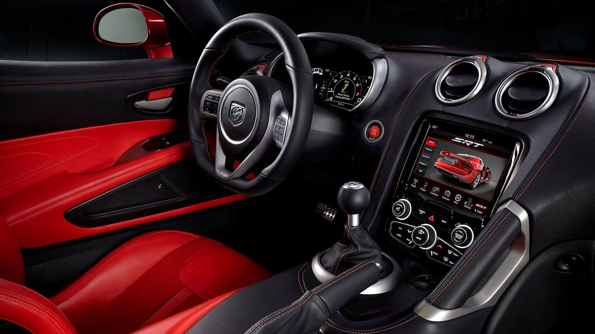 Dodge viper interior dodge viper viper gts viper car