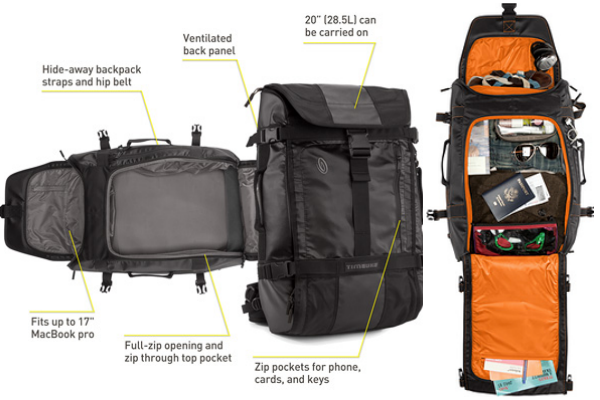 Timbuk2 Aviator Travel Backpack Review | Her packing list, The o ...
