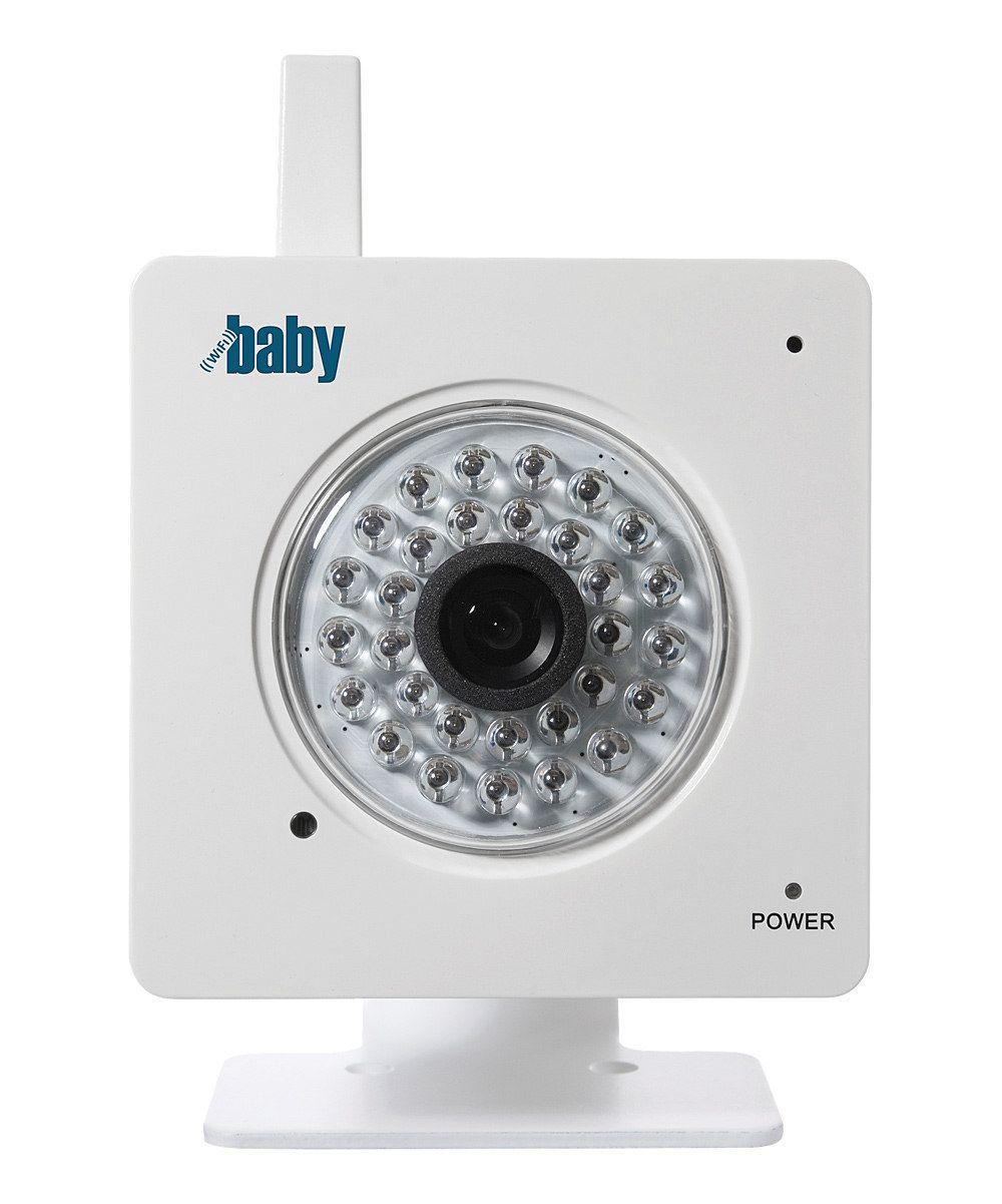 White WiFi Baby Baby Monitor