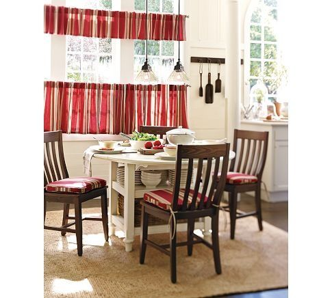Cafe Curtains Pottery Barn   Google Search